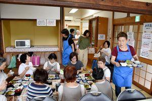 毎週火曜にオープンしている「たすけあい食堂」。以前は宅老所だった=佐賀市柳町