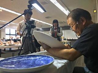 伝統工芸士作品展など取材 有田陶器市リポート