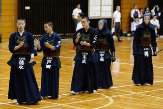 「試合臨む姿勢学べた」最遠来校・京都工学院 大麻旗争奪剣道・高校生大会