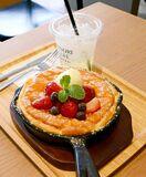 <さが食べある記>みのりカフェ季楽「ふわふわスフレパンケ…
