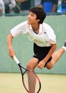 佐賀県中学総体テニス第1日
