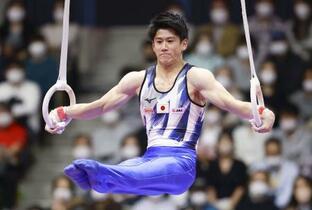 世界体操、橋本は個人総合2位