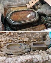 四天王寺に7世紀の亀形石