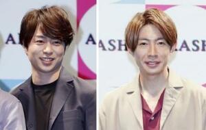 桜井翔さん(左)、相葉雅紀さん(右)
