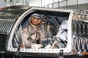 マーキュリー宇宙船の内部
