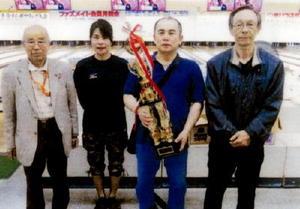 水田羊羹杯10月度月例会 唐津ファズボウリング場上位入賞者