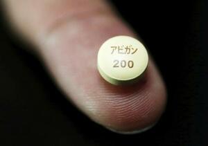 新型コロナウイルス感染症の治療薬候補アビガン(ロイター=共同)