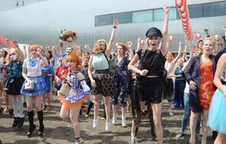 モスクワで日本の夏祭り