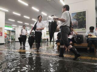 県内に大雨特別警報
