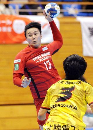 トヨタ紡織九州8強 ハンドボール日本選手権