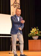 ゴルゴ松本さん「命の授業」 漢字から人の関わり語る