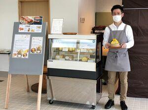7月末までカフェを出店している「NODOKA」