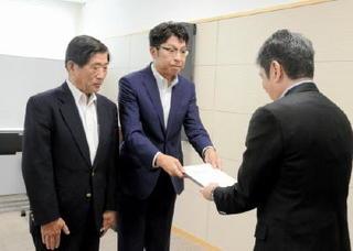 武雄・嬉野市長、フル規格化を県に要望