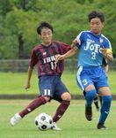 県中学総体サッカー 武雄、53大会ぶりV