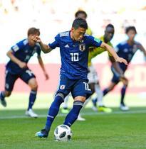 日本、前半は1―1