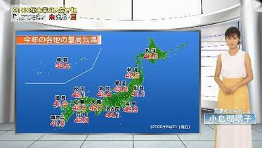 2100年夏、東京43度