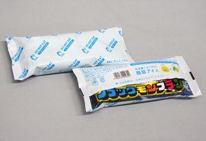 保冷剤に見えるアイス「DO NOT EAT」
