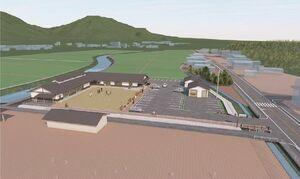 新しい朝日公民館のイメージ