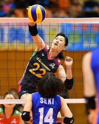 久光6連勝、暫定首位 バレーボールVリーグ女子