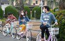 留学生が自転車の交通ルール学ぶ 佐賀市で教室