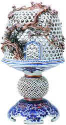 「温故維新展・佐賀の技」陶磁器、染織逸品一堂に