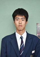 生徒会長の立石大喜さん