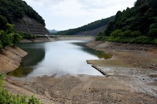 武雄市、農業用水不足が深刻化 ダ…