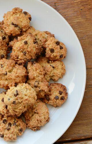 レシピ「オートミールのチョコチップクッキー」