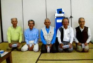 千代田GG協会第6回昇開橋温泉大会の上位入賞者