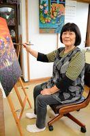 洋画・知事賞 井上良子さん(80)=唐津市