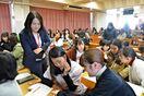 「わたしの未来を考える」 佐賀女子短大生、働き方学ぶ