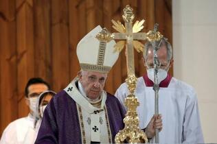 ローマ教皇、クルド自治区でミサ