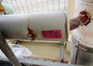 手間やコスト惜しむ? 玄海3号機配管蒸気漏れ
