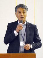佐賀県有明海漁協専務理事の江頭忠則さん