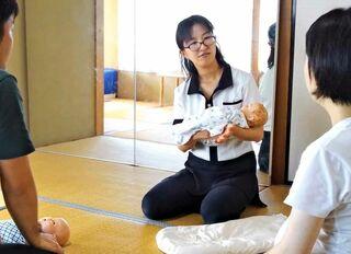 家族みんなが笑顔になれる〝ラクラク抱っこ〟講座 24日、佐賀市水ケ江で