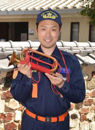 新入団員紹介(6)有田町消防団第1分団第3部 坊所祐汰さん 26歳