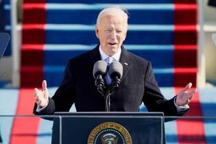 バイデン米大統領「国難に結束」
