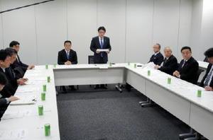 フリーゲージトレインの開発状況について議論した検討委員会=東京・永田町の衆院第2議員会館