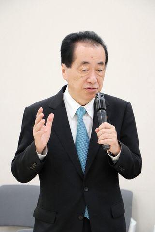 諫早湾干拓開門派、東京で集会 菅元首相「壊した方が元に戻る」