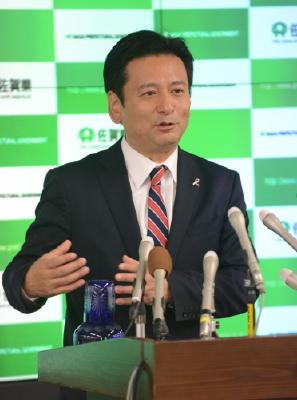 =山口知事・会見要旨=「古川県政の承継ではない」