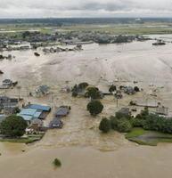 2015年9月の関東・東北豪雨で堤防が決壊した鬼怒川