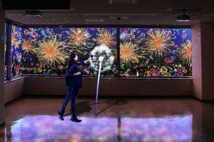 県庁展望ホールなどで10月1日から始まる「夜歩きアート県庁」のイメージ画像