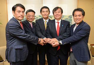 オスプレイ、原発で主張 県内当選者5人座談会