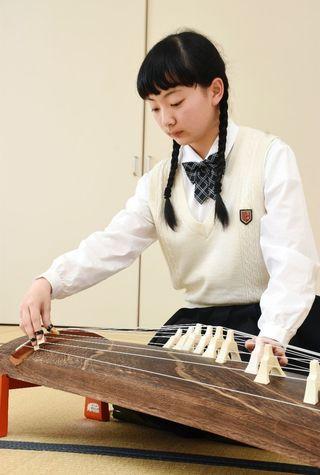 <いま、ここ、わたし さが総文へ駆ける⑱>日本音楽部門 池尻すみれさん(鳥栖商業高3年)