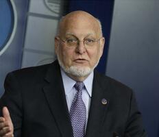 米疾病対策センター(CDC)のレッドフィールド所長(UPI=共同)