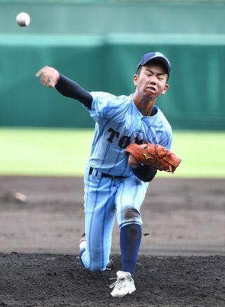 <全国高校野球選手権>東明館 0-4で日本航空(山梨)に敗れる
