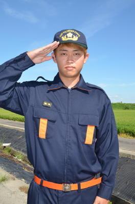 新入団員紹介(4)神埼市消防団第2分団第5部 田原敬一郎さん 20歳