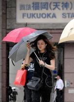台風15号、九州を縦断