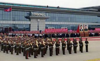 中国主席が14年ぶり訪朝